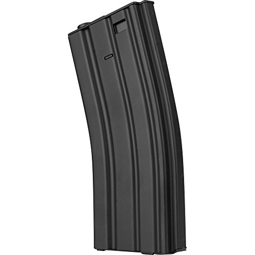Valken Tactical M16 Hi Cap Metal 300-Round Magazine, Black (Hi Capacity Magazine)