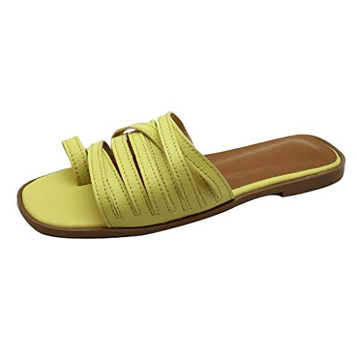 Signature Baguette - Londony Shoes Signature Sandal: Comfort Walking Ergonomic Flip Flops, Slides & Sandals for Women Yellow