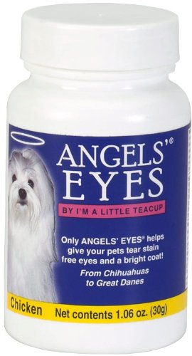 Angels Eyes Tear Stain Remover for Dogs, Chicken Flavor, 30 grams, My Pet Supplies