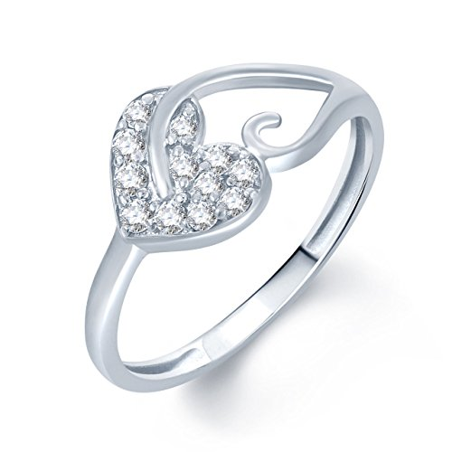 Meenaz Silver Plated Fr172 Ring For Girls & Women