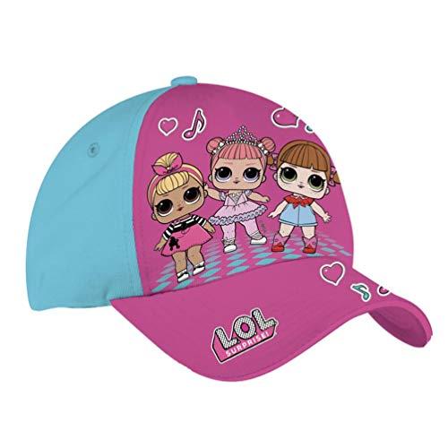 CORIEX s.r.l. (IEX)- LOL Sombrero con Visera B99191, Multicolor, 123