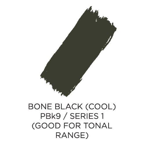 (Akua Intaglio Print Making Ink, 2 oz Jar, Bone Black (IIBB2))