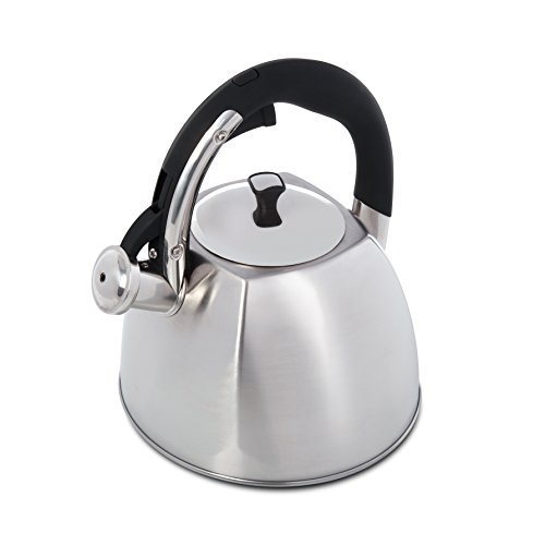 Mr. Coffee 111929.01 Belgrove Stainless Steel Whistling Tea