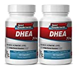 Product review for energy supplements for men with fatigue - DHEA 50MG - enhancement pills for women - 2 Bottles (120 Capsules)