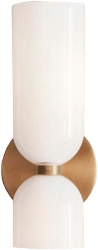 Aplique Pared Interior LED Pulsador Sin Deslumbramiento,lámparas LED Art Deco Creativas Cálidas Para Interiores,escaleras Pasillo Lámpara E14 Iluminación De La Sala Estar (sin Fuente De Luz): Amazon.es: Iluminación