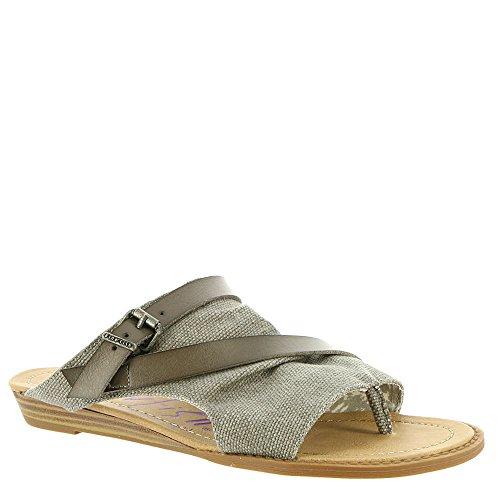 Blowfish Women's Barria Slide Sandal, Grey, 7.5 M US