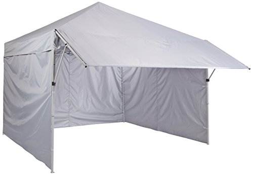 AmazonBasics Pop-Up Canopy Tent with Sidewalls - 10 x 10 ft