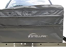 STELLAR 10102 Expandable Waterproof Cargo Bag for Hitch Baskets