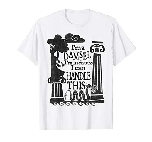 Disney Hercules Meg Damsel Retro Quote Poster  T-Shirt]()
