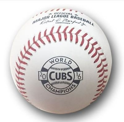 2017 CHICAGO CUBS OPENING DAY BASEBALL 2016 WORLD SERIES CHAMPIONS COMMEMORATIVE
