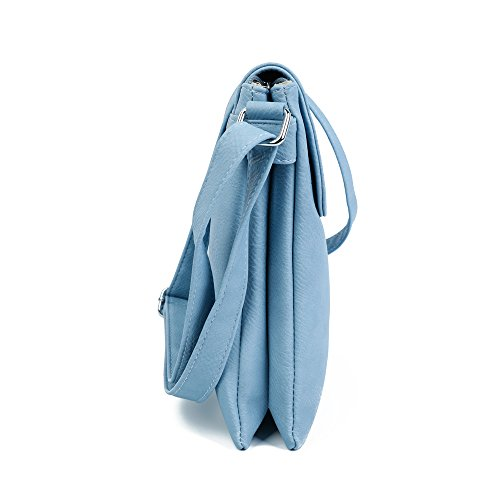 Pour Sac Blue À Porter Femme Silver Craze London Trim L'épaule Light qEwABB