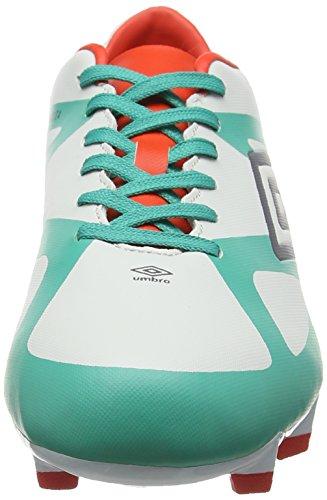 Umbro Velocita Iii Club Hg, Botas de Fútbol para Hombre, Multicolor (Dawn Blue/Carbon/Fiery Red/Spectra Green Epe), 47 EU