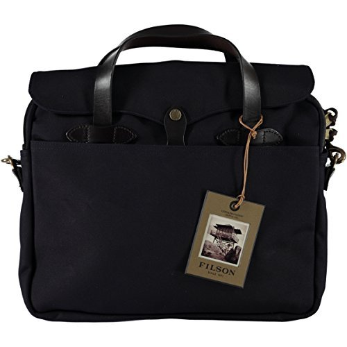 Filson Men's Original Briefcase, Navy, One Size