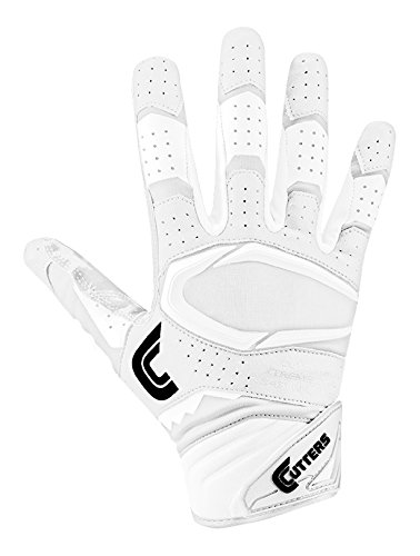 Cutters Gloves S451 Rev Pro 2.0 Receiver Safety Cornerback Gloves With C-Tack Grip