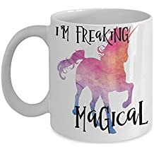 I'm Freaking Magical Unicorn Coffee Mug Tea Cup