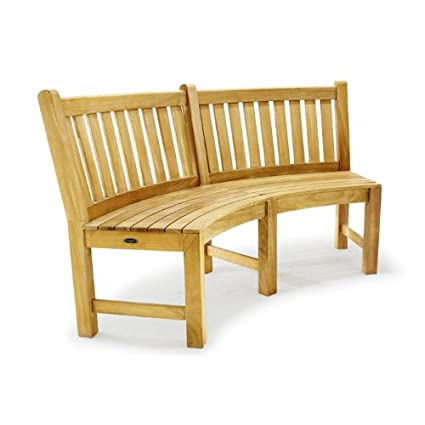 Fantastic Amazon Com Buckingham Teak Bench 6 Ft Outdoor Benches Forskolin Free Trial Chair Design Images Forskolin Free Trialorg