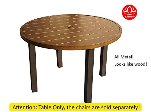 Cheap Kozyard Belton 42″ Round Table and 4 Chair Sets