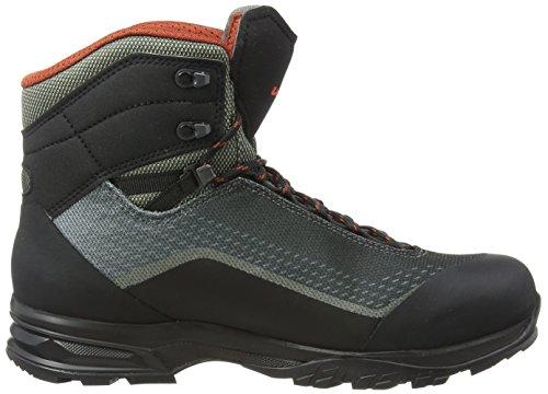 Lowa Irox GTX Mid, Stivali da Escursionismo Alti Uomo Grigio (Olive/Schwarz 7899)