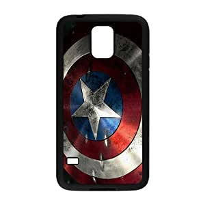 Captain America Shield Brand New And Custom Hard Case Cover Protector For Samsung Galaxy S5