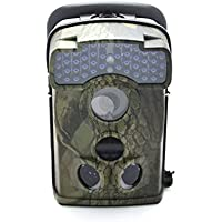 12 MP Wide Angle Hunting Trail Scouting Wildlife Game Camera with 44 Pcs IR Leds