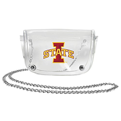 Cyclone Pack (NCAA Iowa State Cyclones Clear Waist Pack/Crossbody Purse)
