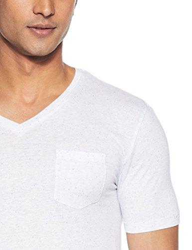 T white shirt Vebasic Celio Homme Blanc F4qH5