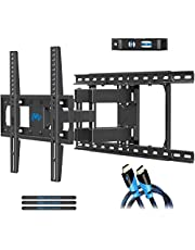 Mounting Dream TV Wall Mount for 26-55'' TV, Full Motion TV Wall Bracket Fits 16'', 18'', 24'' Wood Studs, Easy for TV Centering Bracket with Articulating Arms, Max VESA 400x400mm and 99 lbs MD2380-24K