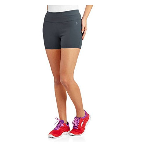 - Danskin Now Womens Active 3 Compression Shorts (X-Small, Charcoal)