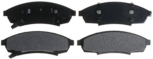 ACDelco 14D376MX Advantage Severe Duty Organic Front Disc Brake Pad Set