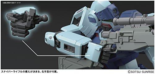 Bandai Hobby MG 1/100 GM Sniper II Gundam 0080 Action Figure by Bandai Hobby (Image #4)