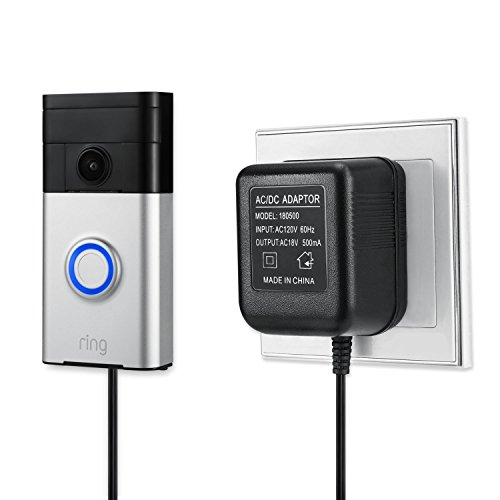 - Power Supply Adapter for The Ring Video Doorbell, Ring Video Doorbell 2 and Ring Video Doorbell Pro by Wasserstein