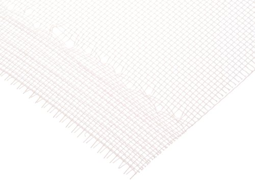 Polyester Mesh Sheet, Opaque Off-White, 45'' Width, 10 yards Length, 105 microns Mesh Size, 52% Open Area by Small Parts