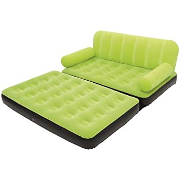 Amazoncom Bestway MultiMax Inflatable Couch with Air Pump