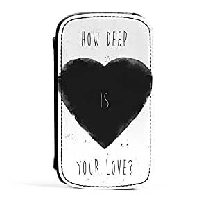 How Deep Is Your Love 3 Premium Faux PU Leather Case Flip Case for Samsung? Galaxy S3 by Balazs Solti + FREE Crystal Clear Screen Protector