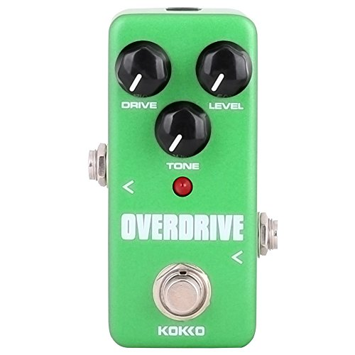 (Guitar Mini Effects Pedal Over Drive - Warm and Natural Tube Overdrive Effect Sound Processor Portable Accessory for Guitar and Bass, Exclude Power Adapter - FOD3)