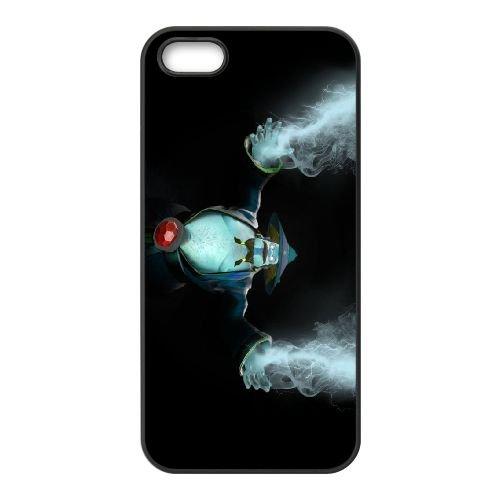 Storm Spirit coque iPhone 5 5s cellulaire cas coque de téléphone cas téléphone cellulaire noir couvercle EEECBCAAN01958