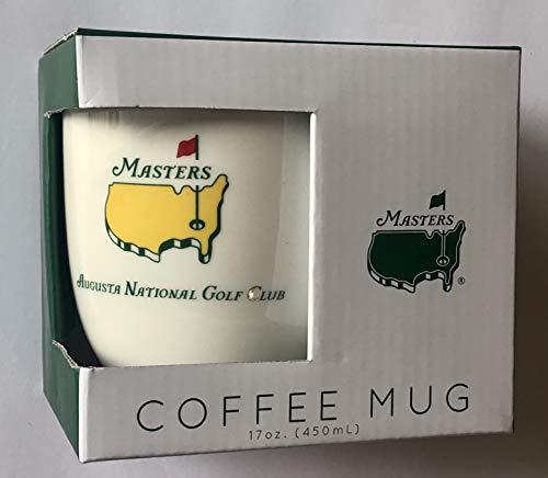 (2019 Masters golf coffee mug augusta national script white tiger woods wins new pga)