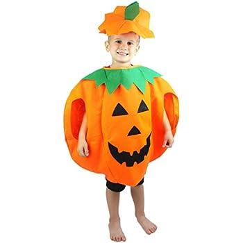 Halloween Orange Pumpkin Unisex Costume Set for Party Children Clothing 2-6year  sc 1 st  Amazon.com & Amazon.com: Halloween Pumpkin Costume for Kids: Computers u0026 Accessories