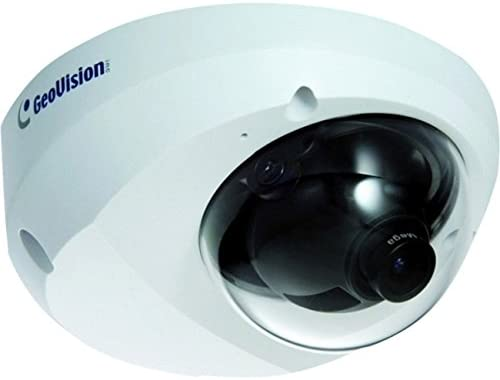 Geovision GV-MFD1501-1F 1.3 MP H.264 Super Low Lux, WDR Mini Fixed Dome Camera White