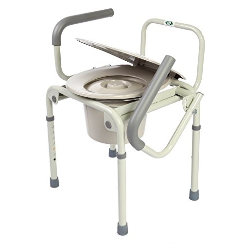 Healthline Trading Commode Drop Arm 3 In 1 (Drop Pro Rail)