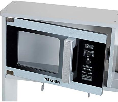 Theo Klein-7199 Miele Cocina, Madera (MDF), Color Blanco, Midi ...