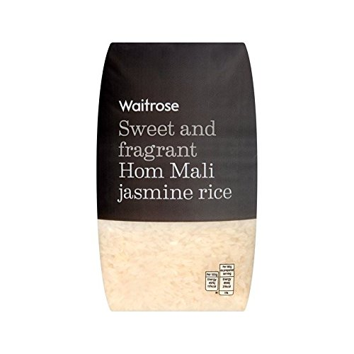 Jasmine Hom Mali Rice Waitrose 1kg - Pack of 6 by WAITROSE