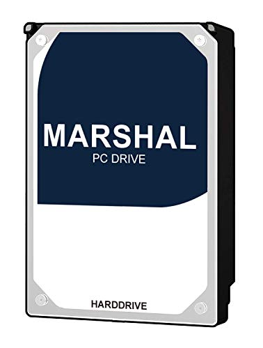 Marshal 3TB 7200RPM 64MB Cache SATAⅢ(6.0Gb/s) 3.5 Inch Internal Hard Drive Model 64MB Cache 7200rpm MAL33000SA-T72 for All Use, Especially Desktop Storage