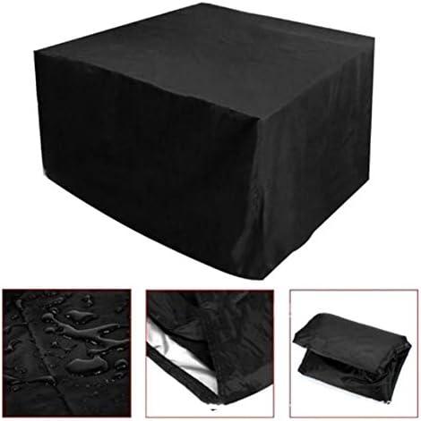 家具カバー ファニチャー 屋外の防水オックスフォード布正方形のテーブルカバー家具のカバー中庭 ガーデン 庭用保護カバー シャンボ14011 (Size : 127*127*67CM)