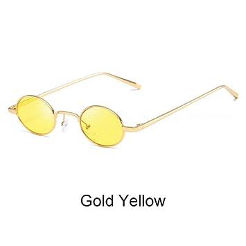 ZHOUYF Gafas de Sol Gafas Redondas Mujeres Gafas De Sol ...