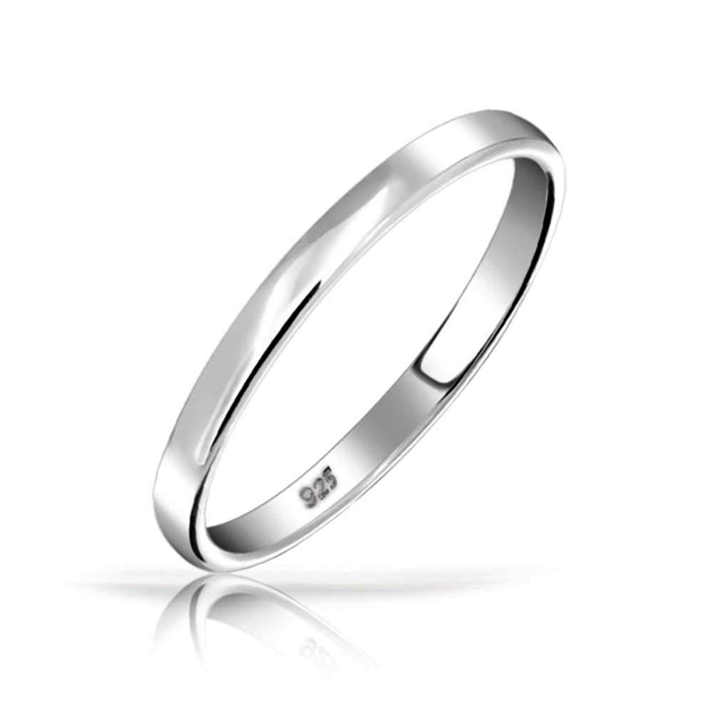.925 Sterling Silver Wedding Band Thumb Toe Ring 3mm with Engraving Bling Jewelry SI-RP140503-R