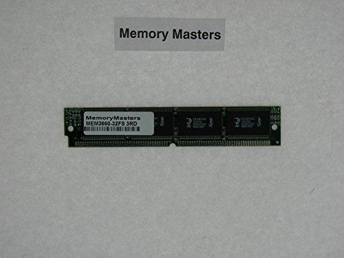 - MEM3660-32FS 32MB FLASH SIMM FOR 3660 SERIES RAM Memory Upgrade (MemoryMasters)