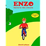 Enzo learns to ride a bicycle