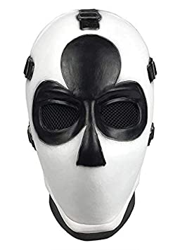 Yacn Fortnite Wild Card Mask Club para Adultos, Casco de Disfraces de Halloween, Cosplay