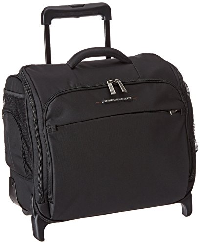 Briggs & Riley Luggage Transcend Rolling Cabin Bag, Black, Carry on by Briggs & Riley